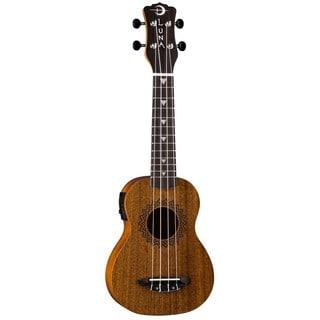 Luna Guitars Vintage Soprano Ukulele, Mahogany Body w/ Preamp - Satin Natural