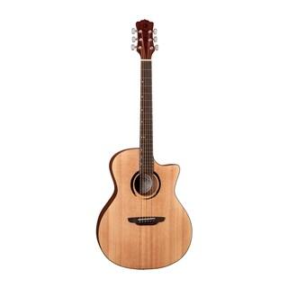 Luna Guitars Wabi Sabi Grand Concert Acoustic-Electric Guitar, Spruce Top - Satin Natural