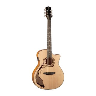 Luna Guitars Oracle Koi Next Generation Acoustic-Electric Guitar, Spruce Top - Natural