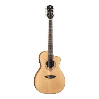 Luna Guitars SONGPAR Heartsong Parlor Acoustic-Electric Guitar, Spruce Top w/ USB - Satin Natural