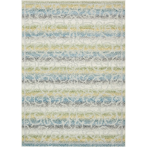 Outdoor Rug 7 X 10: Shop Unique Loom Maui Indoor/Outdoor Rug