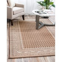 Unique Loom Allover Williamsburg Area Rug - 9' x 12'