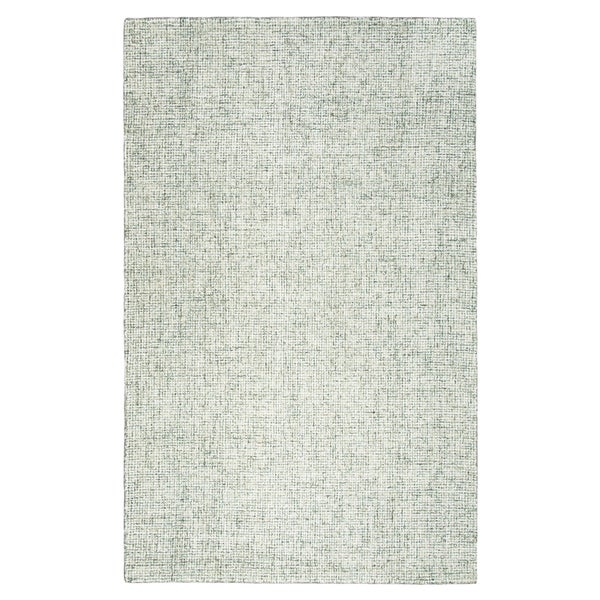 Rizzy Home Brindleton Solid Green Wool Hand-tufted Area Rug - 10' x 14'