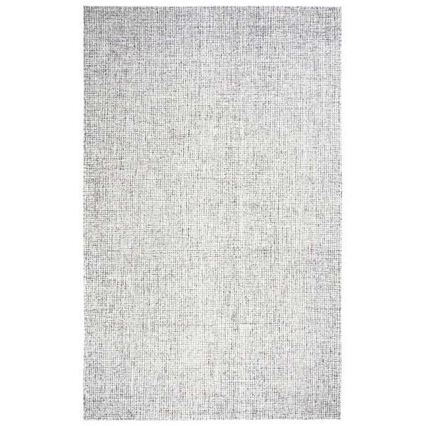 Rizzy Home Brindleton Solid Grey Wool Hand-tufted Area Rug - 10' x 14'