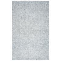 Brindleton Solid Blue Wool Hand-tufted Area Rug - 10' x 14'