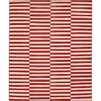 Unique Loom Striped Williamsburg Area Rug - 8' x 10'
