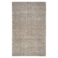 "Hand-Tufted Brindleton Solid Brown Wool Area Rug  (6'6"" x 9'6"") - 6'6"" x 9'6"""