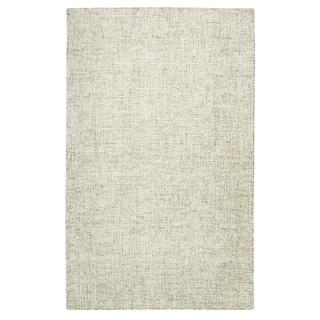 Hand-Tufted Brindleton Solid Beige Wool Area Rug  (12' x 15') - 12' x 15'
