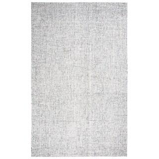 Hand-Tufted Brindleton Solid Grey Wool Area Rug (12' x 15')
