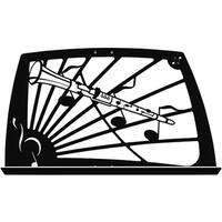 Manhasset Noteworthy Music Stand - Clarinet Design