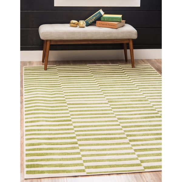 Unique Loom Striped Williamsburg Area Rug - 10' x 13'