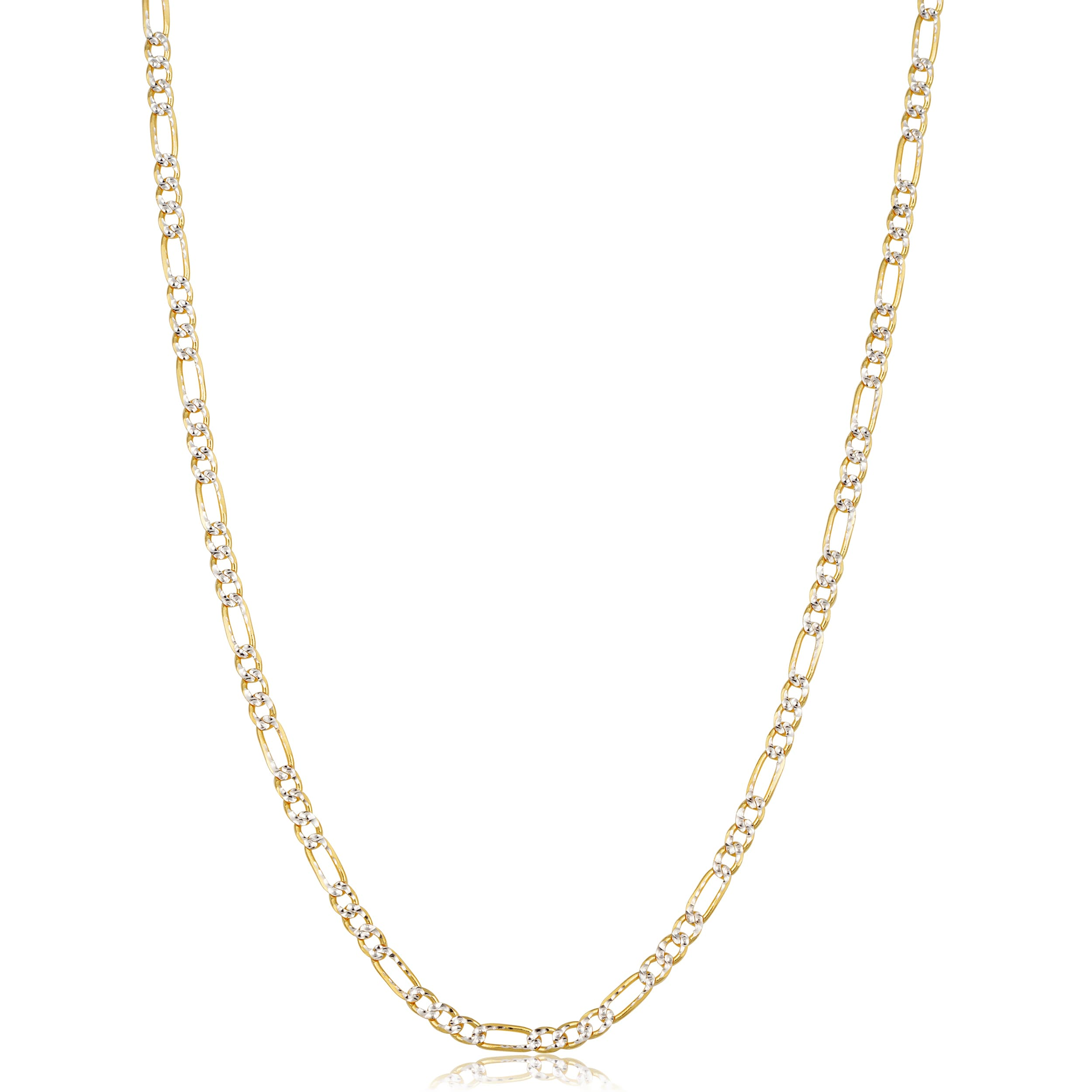 4cd672cd7d23f Buy Two-Tone Gold Chains & Necklaces Online at Overstock | Our Best ...