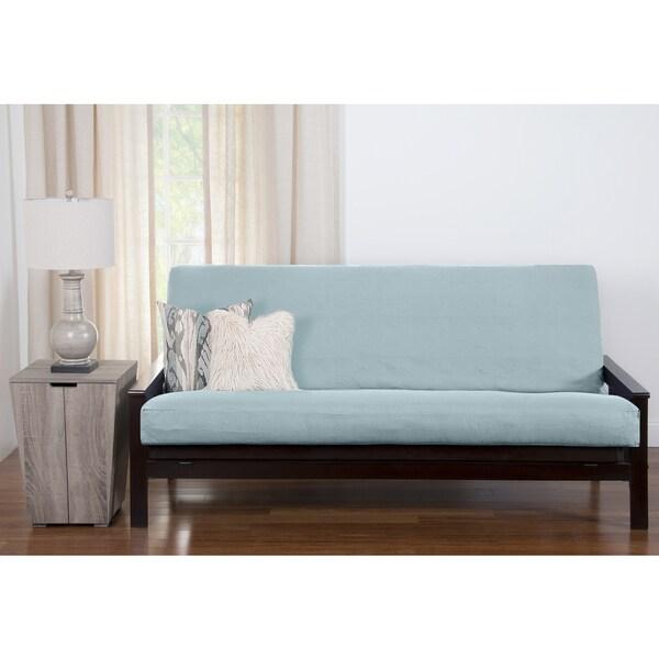 pologear gateway sea blue futon cover pologear gateway sea blue futon cover   free shipping today      rh   overstock
