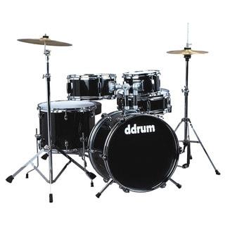 ddrum D1 Junior Complete 5-Piece Drum Set - Midnight Black