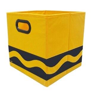 Crayola Black Serpentine Orange Storage Bin