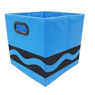 Crayola Black Serpentine Blue Storage Bin
