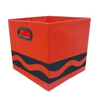 Crayola Black Serpentine Red Storage Bin