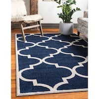 Unique Loom Austin Trellis Area Rug - 9' 0 x 12' 0