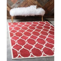 Unique Loom Seattle Trellis Area Rug - 9' x 12'