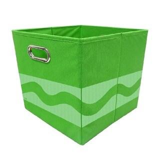 Crayola Tone Serpentine Green Storage Bin