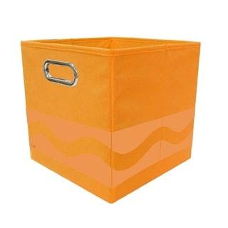Crayola Tone Serpentine Orange Storage Bin