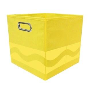 Crayola Tone Serpentine Yellow Storage Bin