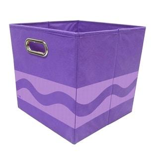 Crayola Tone Serpentine Purple Storage Bin
