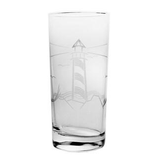 Lighthouse 15-ounce Cooler Glass (Set of 4)
