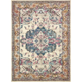 Unique Loom Medici Barcelona Area Rug (Beige - 9 x 12)