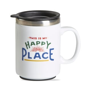 TAG Happy Place Insulated Travel Mug