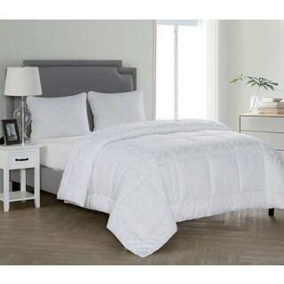 Caribbean Joe Lyocell Cotton Blend Palm Leaf Down Alternative Comforter (3 options available)