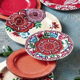 TAG Talavera Melamine Salad Plate Set of 4