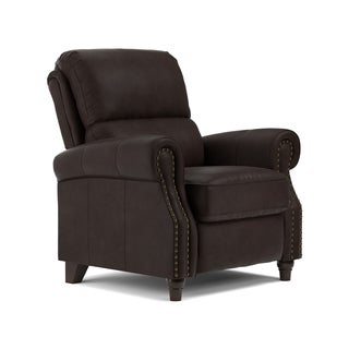ProLounger Coffee Brown Renu Leather Push Back Recliner Chair