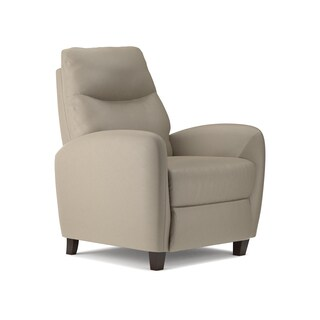 ProLounger Cream PU Leather Push Back Recliner Chair