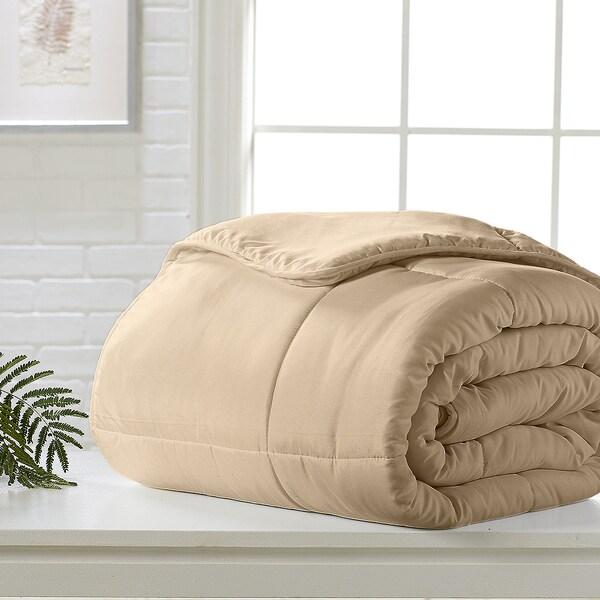 Khaki Down Alternative Comforter