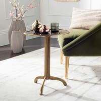 Safavieh Brent Antique Brass Accent Table