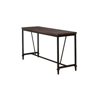 Hillsdale Furniture Trevino Counter Height Table/Bar in Distressed Walnut
