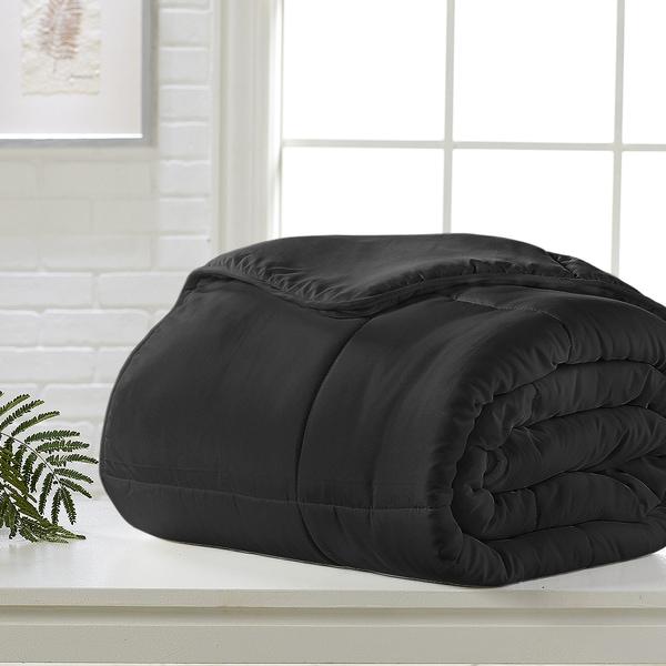 Black Down Alternative Comforter