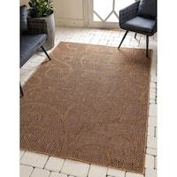 Unique Loom Vine Outdoor Area Rug - 9' x 12'
