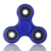 Fidget Blue & Black Ceramic Spinner Helps To Reduce Stress Anxiety Helps Focus