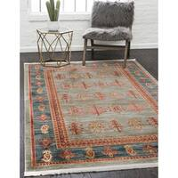 Unique Loom Darya Fars Area Rug - 8' X 11'