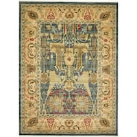 Unique Loom Marwan Sahand Area Rug - 10' x 13'