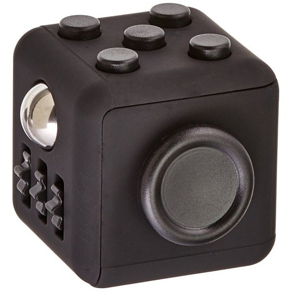 Fidget Cube Relieves Stress And Anxiety Black & Black