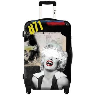 iKase Marilyn Monroe ,Marc 24-inch Hardside Spinner Upright Suitcase