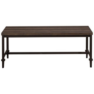 Hillsdale Furniture Trevino Coffee Table in Distressed Walnut