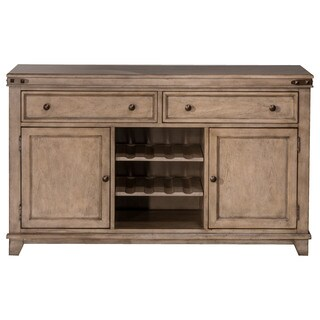 Hillsdale Furniture Leclair Grey Wood Server