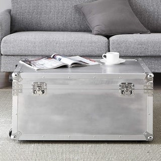 VIN Steel Plated Trunks - Argent Destination (Silver)