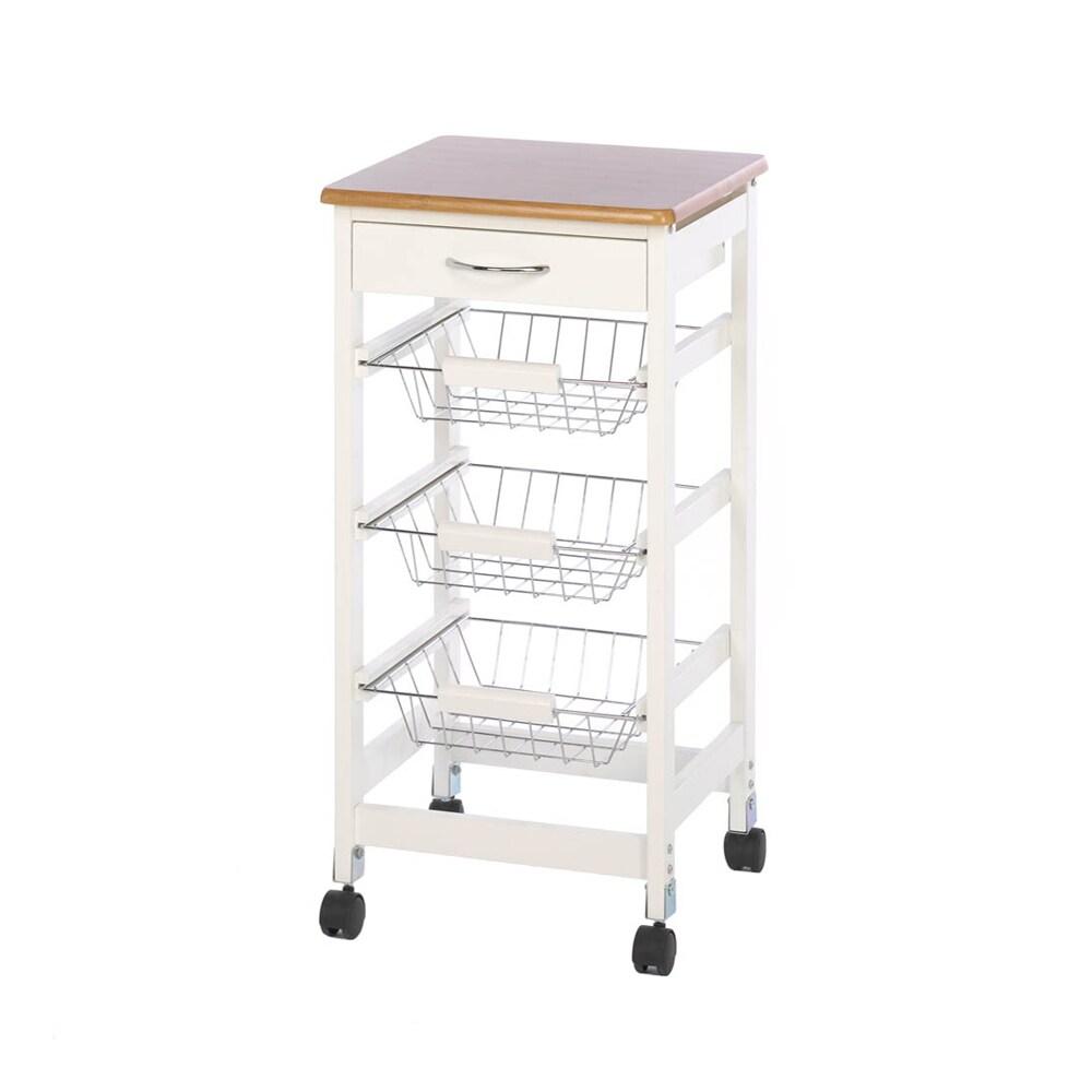 Koehler Kitchen Table Trolley (Trolley), Brown
