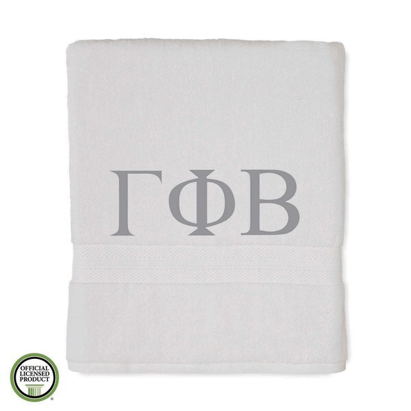 Martex Abundance Gamma Phi Beta Monogram Bath Towel