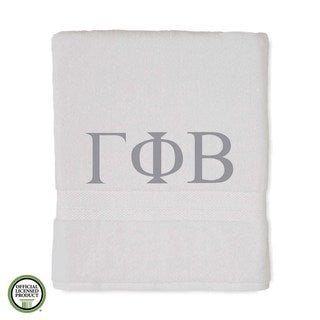 Martex Abundance Gamma Phi Beta Monogram Bath Towel